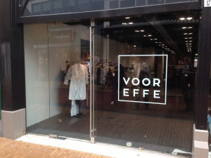 VOOREFFE Pop-up shop