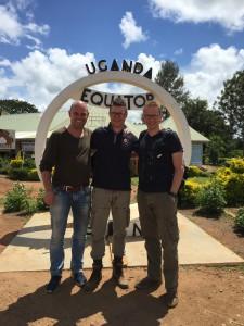 Bezoek Uganda
